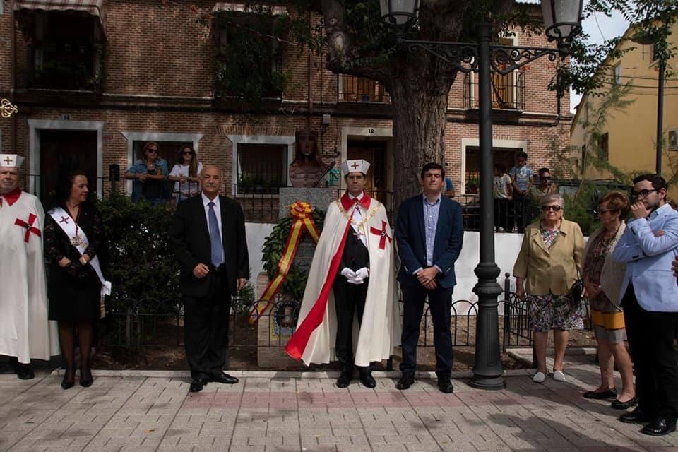 Homenaje Isabel II